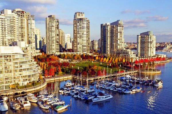 Những thành phố tốt nhất để làm việc tại British Columbia, Canada