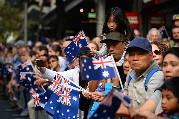 Ngày càng nhiều người châu Á nhập cư Úc