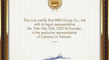 IMM Group là đại diện độc quyền của Cybarco tại Việt Nam