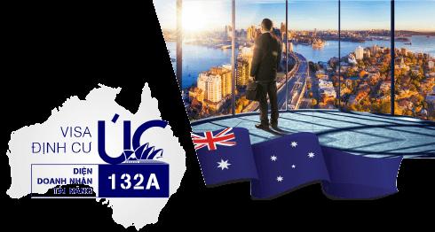 Visa Úc diện doanh nhân tài năng <br>132A