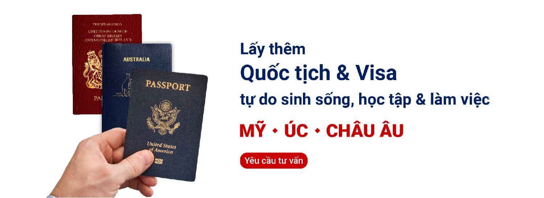 Lấy thêm Quốc tịch và visa