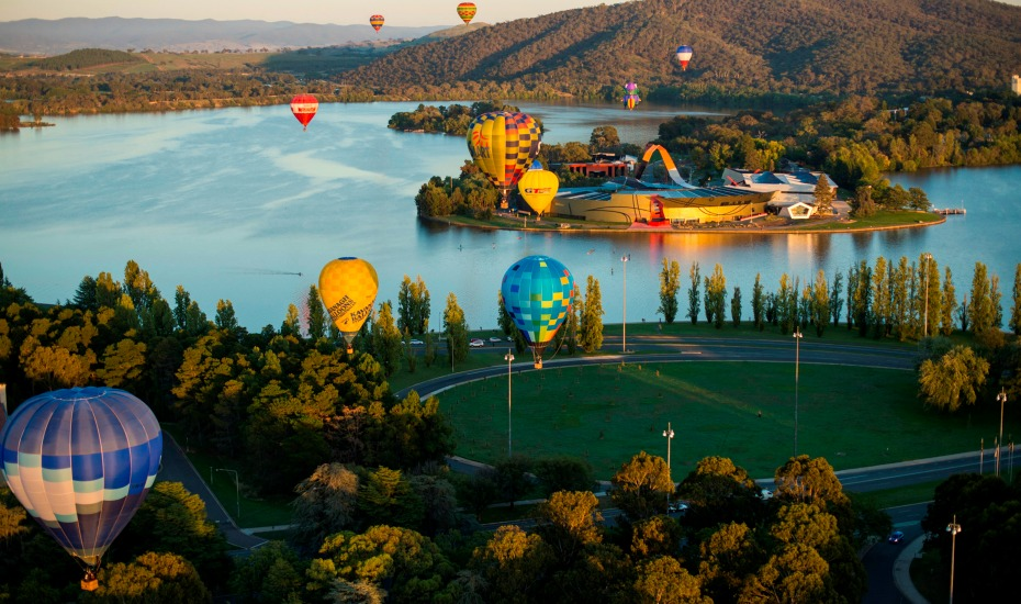 Thủ đô Canberra tăng tốc thu hút du khách