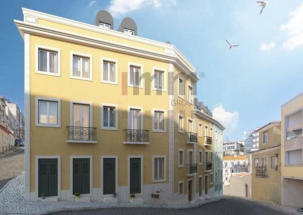 Hình ảnh dự án đầu tư lấy thị thực vàng Bồ Đào Nha, căn hộ Graceful ở thủ đô Lisbon