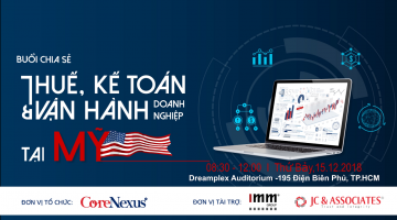 Video – The Sharing Session: Tax, Accountant and Business Operation in the US