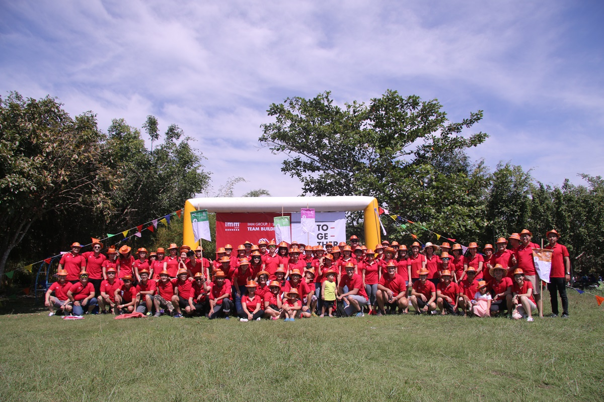 IMM Group Team Building 2017 – Together, we build a great team
