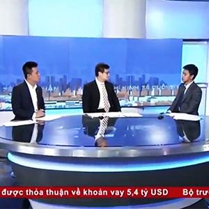 Đại diện IMM Group làm khách mời trên VTV1, chia sẻ triển vọng hợp tác Việt Mỹ sau Hiệp định TPP