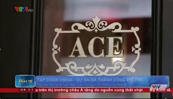 Dự án ACE Hotel trên kênh truyền hình VTV1