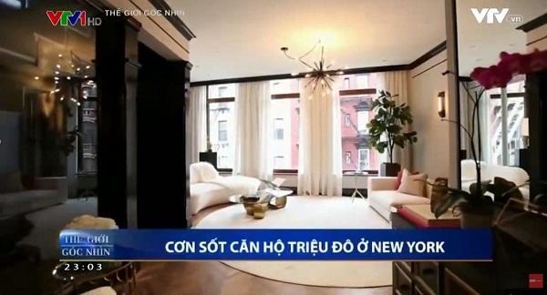 VTV1 – Cơn sốt căn hộ triệu đô ở New York – Giới thiệu ACE Hotel