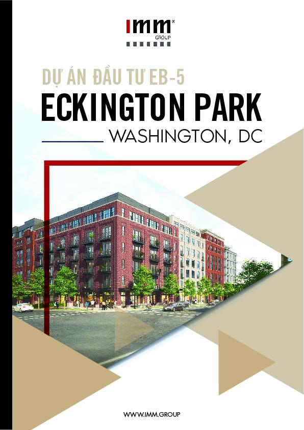 Dự án EB-5 Eckington Park của trung tâm vùng EB5 Capital, do IMM Group phân phối.