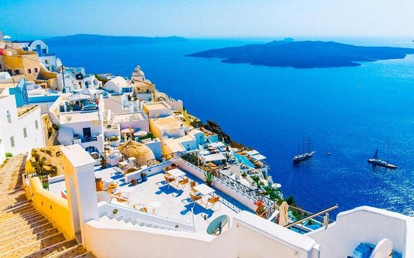 Du lịch Hy Lạp tăng trưởng mạnh mẽ trong những năm gần đây
