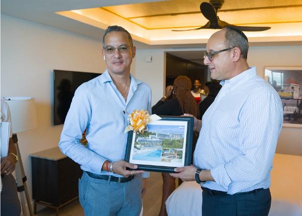 Thủ tướng Grenada thăm dự án đầu tư lấy quốc tịch Grenada, Kawana Bay