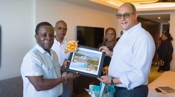 Thủ tướng Grenada thăm dự án đầu tư lấy quốc tịch Grenada, Kimpton Kawana Bay