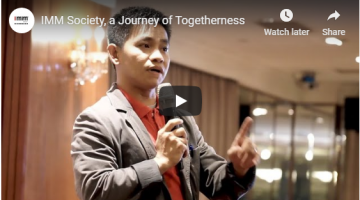 IMM Society, a Journey of Togetherness