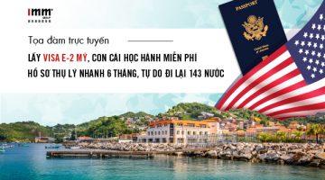 Góc khuất visa định cư Mỹ: EB-1C, L-1A, EB-5, E-2, EB-3. Có hay không nên chọn E-2?