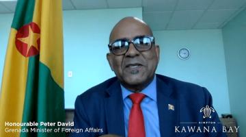Video – Bộ trưởng bộ ngoại giao Grenada khen ngợi dự án Kanawa Bay
