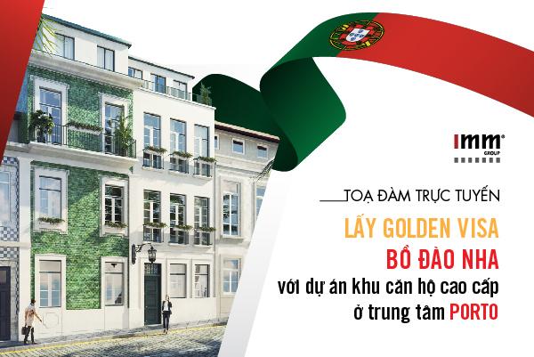 Lấy Golden Visa Bồ Đào Nha  với dự án khu căn hộ cao cấp ở trung tâm Porto