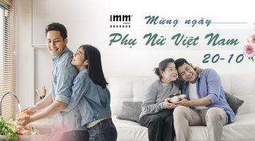 IMM Group mừng ngày Phụ nữ Việt Nam 20/10/2020