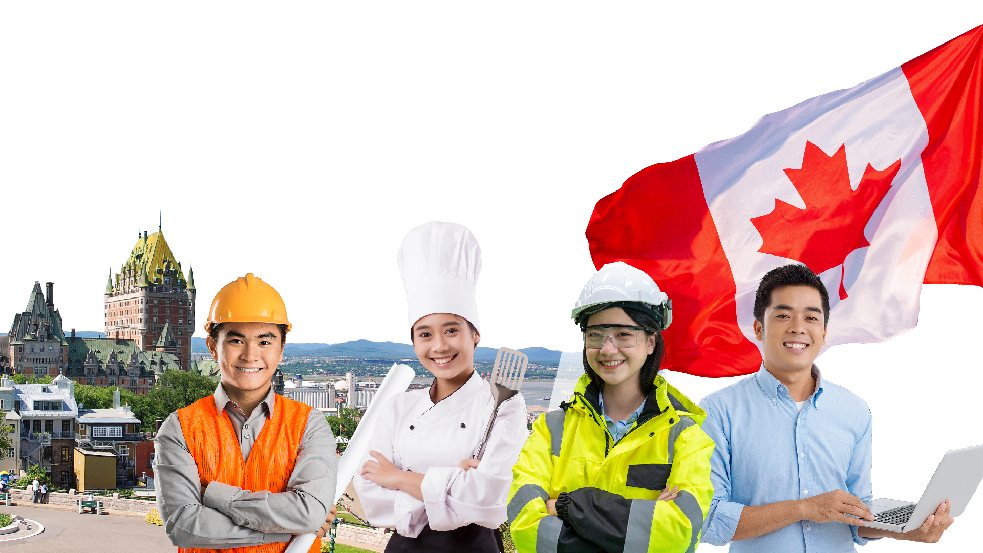 Định cư Canada <br> diện Skilled Worker <br> khu vực miền Bắc