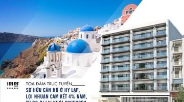 Sở hữu căn hộ ở Hy Lạp, lợi nhuận cam kết 4% năm. <br> tự do đi lại khối Schengen