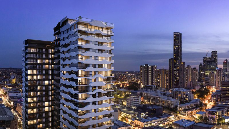 Video – Căn hộ cao cấp tầng áp mái dự án Coterie, Brisbane, Úc