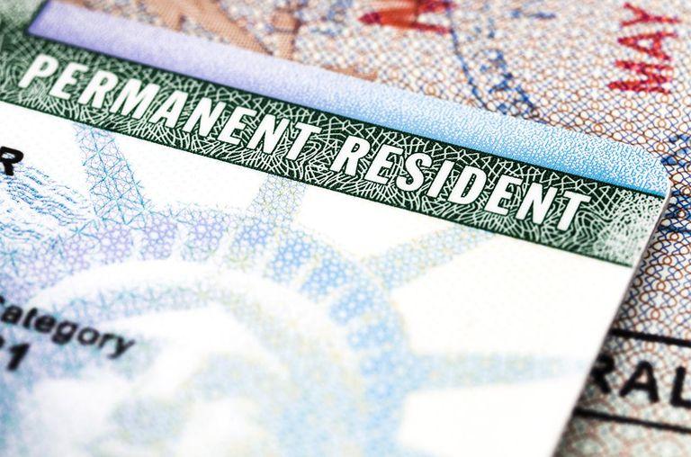 thẻ thường trú nhân Mỹ