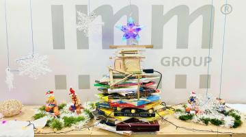 Video – Cuộc thi trang trí bàn làm việc Giáng Sinh 2020 IMM Group
