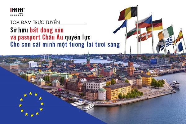 Sở hữu bất động sản và passport Châu Âu quyền lực.  Cho con cái mình một tương lai tươi sáng