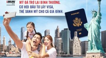 Mỹ đã trở lại bình thường <br>Cơ hội đầu tư lấy visa, thẻ xanh Mỹ cho cả gia đình
