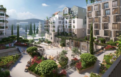 Dự án khách sạn 5 sao Boka Place, Porto Montenegro, Tivat