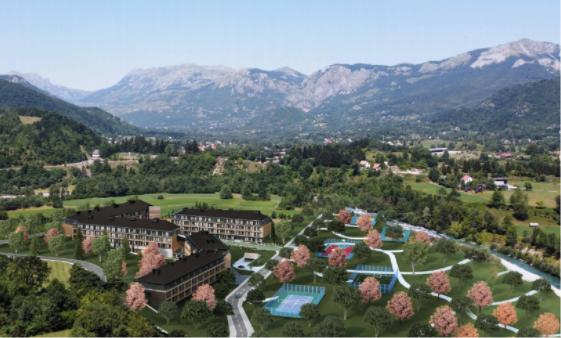 Dự án khách sạn 5 sao Montis, Kolasin