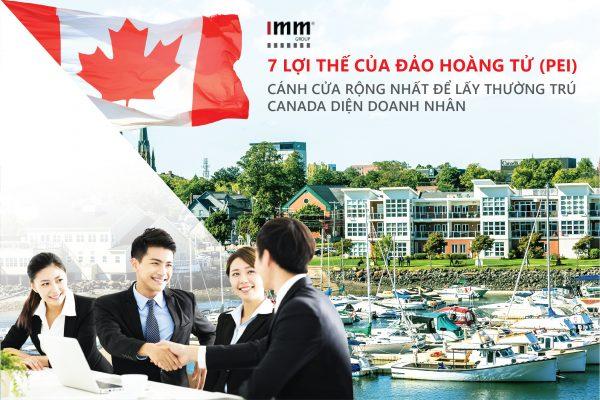 7 lợi thế của Đảo Hoàng Tử (PEI) – Cánh cửa rộng nhất để lấy thường trú Canada diện doanh nhân