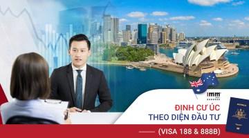 Định cư Úc theo diện Đầu tư (Visa 188B & Visa 888B) <br>Áp dụng từ ngày 01/07/2021