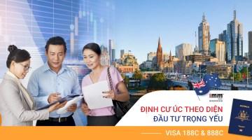 Định cư Úc theo diện Đầu tư trọng yếu Visa 188C & 888C  <br>Áp dụng từ ngày 01/07/2021