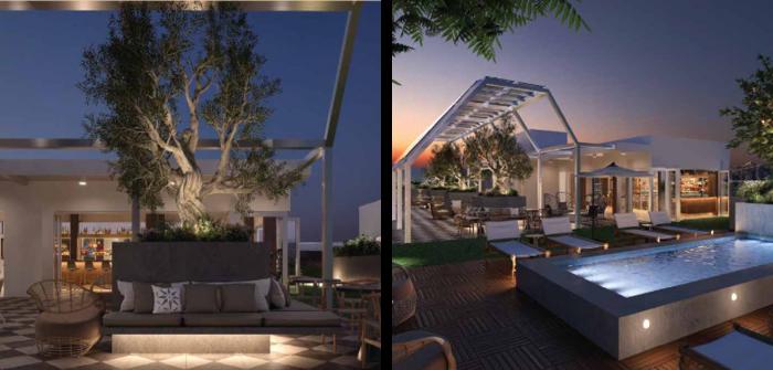 Hình ảnh nội thất và ngoại thất của dự án Whisky Hotel