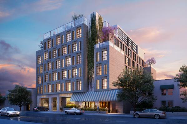 Thiết kế của khách sạn Whisky Hotel, sau khi hoàn thành và đi vào hoạt động vào năm 2022.