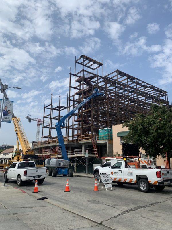 Dự án lấy thẻ xanh Mỹ Whisky Hotel tại Hollywood hoàn thành gần 50% tiến độ, được báo chí Mỹ khen ngợi