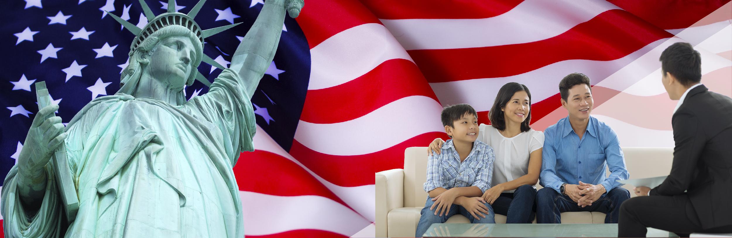 Đầu tư lấy thẻ xanh Mỹ EB-5 cho cả gia đình - Sang Mỹ nhanh, mức đầu tư thấp