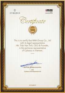 Cybarco certificate