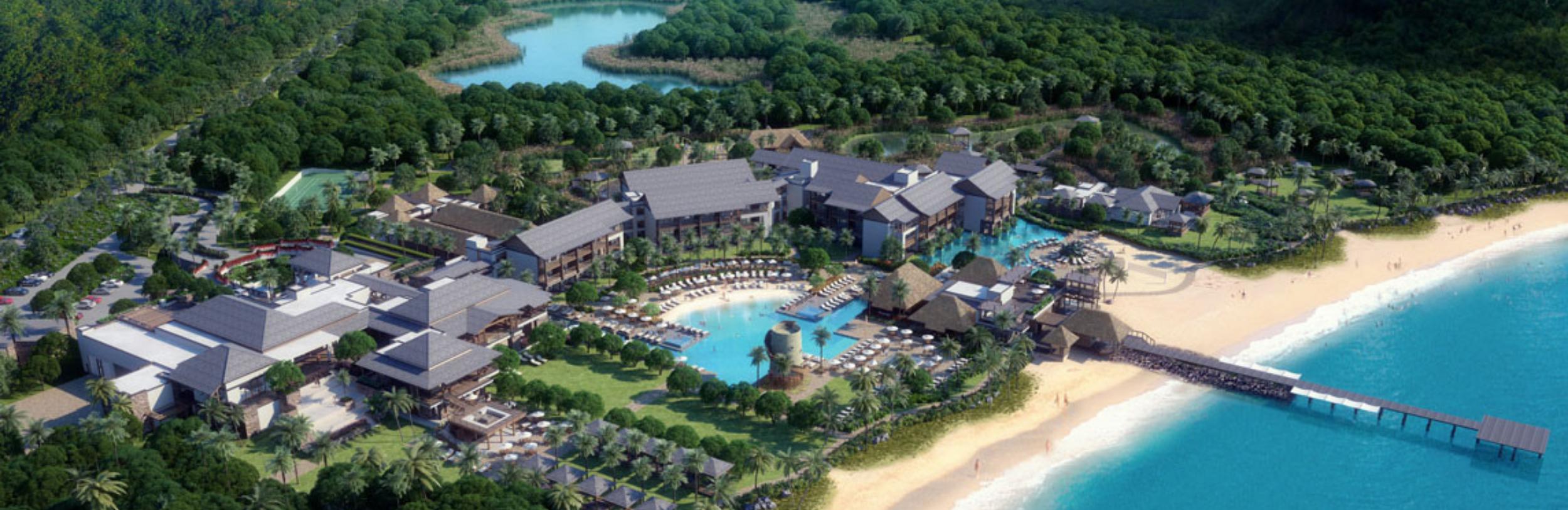 Đầu tư khách sạn 5 sao Park Hyatts Saint Kitts. Thêm passport tự do đi lại 156 nước.