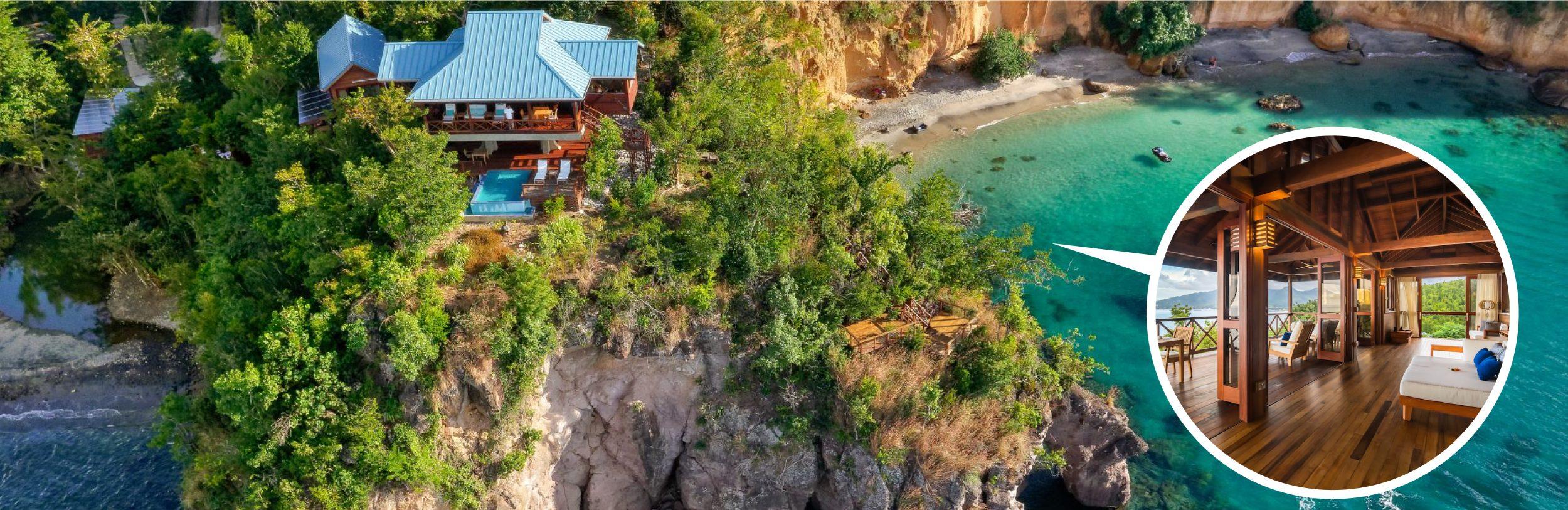 Đầu tư khách sạn 6 sao Secret Bay. Lấy quốc tịch Dominica passport tự do đi lại 141 nước.