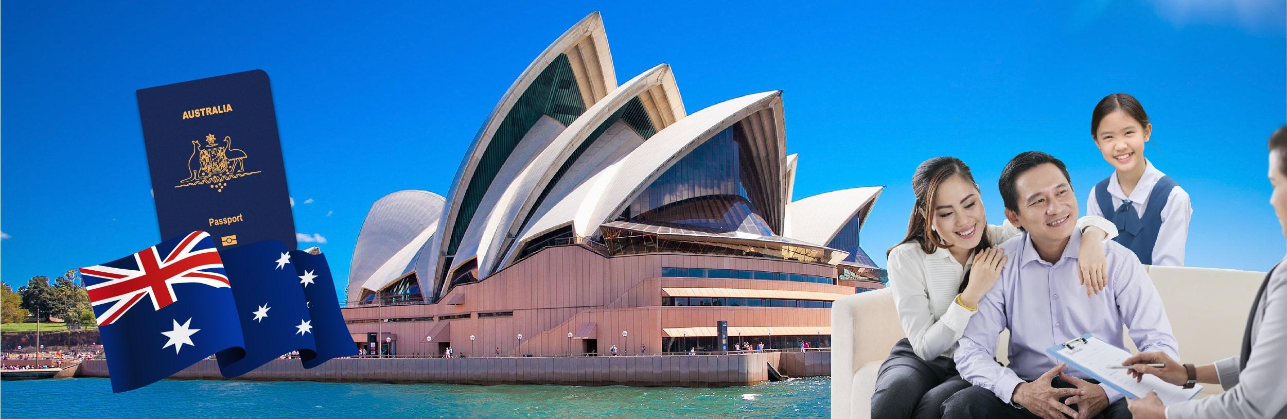 Định cư Úc diện doanh nhân Cho gia đình và con cái mình một tương lai thịnh vượng