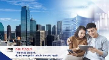 Đầu tư Quỹ thu nhập ổn định, dự trữ một phần tài sản ở nước ngoài