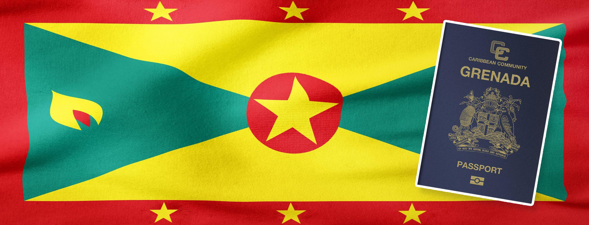 Grenada Quốc tịch Caribbean duy nhất đủ điều kiện xin Visa Mỹ E-2. Tự do đi lại 144 quốc gia (banner)